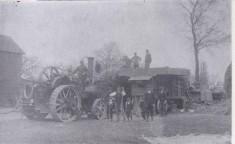 1860s threshing machine owned by Tom & Fred Newling