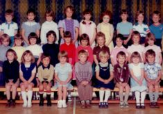 Harston Primary class around 1980