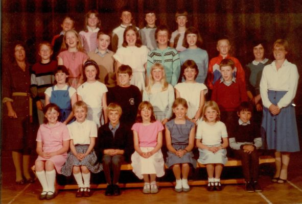 Harston Primary school class early 1980s | (Bates)