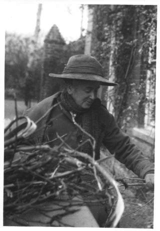 Helen Greene collecting natural materials for dyes 1916-20 | (Deacon)