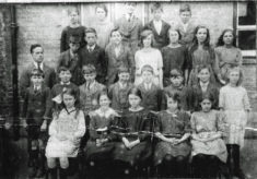 Harston School class around 1922