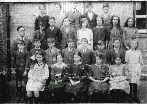 Harston School Class around 1922 | (A Knight)