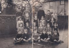 Harston School class about 1946
