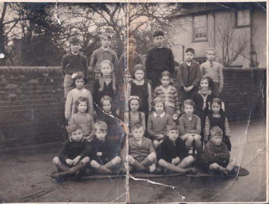 Harston School Class around 1946 | (Marriott)