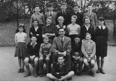 Mr Shoote's Class about 1953-4