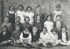 Harston School class around 1938-40