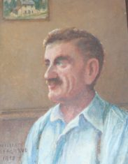 William Seagrave- haulier- painted by Mary Greene