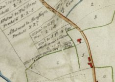 Hayes land Button End at Inclosure 1799