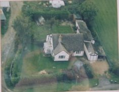 Aerial photo of Linden Lea, Button End