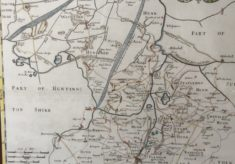 Map of Cambridgeshire (approx 1800)