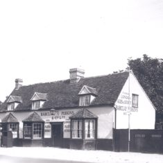 Coach & Horses advertising London Ales & Stouts, Barclay Perkins | (Deacon)