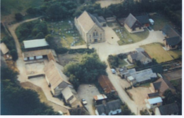 Chapel Lane aerial view | (Deacon)