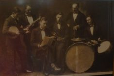 The January Six band with Eliot Chapman playing violin bef 1934