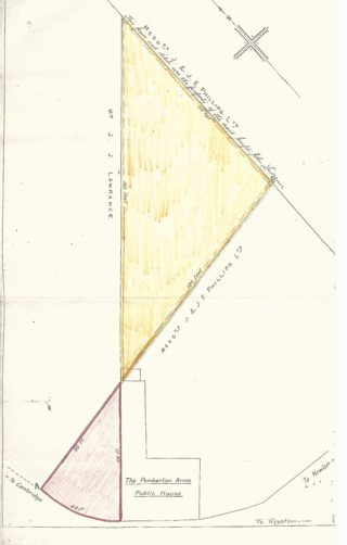 Abstract of Title for Forge Cottage land   (D Gooch)