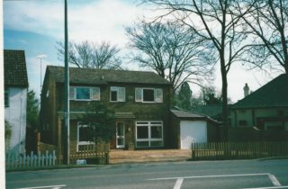 2a High St with completed garage 2002 | (Deacon)