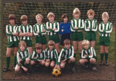 Harston youth football team