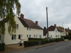1919 Addison Council houses in Church Street Oct 2015