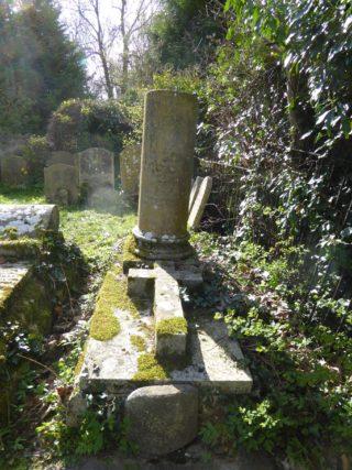 Grave of Rev & Mrs Durbin, Harston parish churchyard | (Roadley)