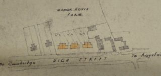 Plan for Pest Control Houses 1946 | Cambridge Archives