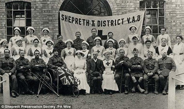 Shepreth VAD hospital (Shepreth Preservation Society) | (Shepreth Preservation Society)