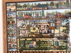 Guy Aldis Tapestry referring to Wyatt House, 10a high St