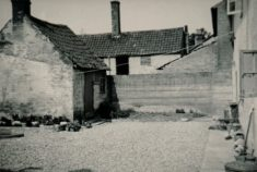 Back of Lamorna (Fountain cottage) c 1951