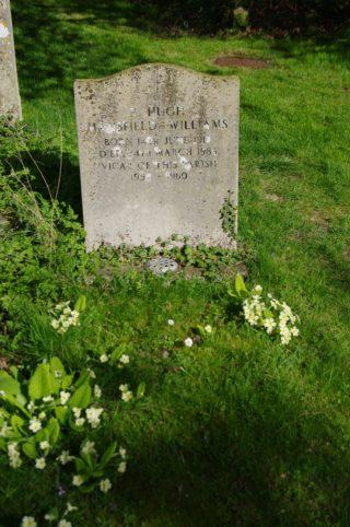 Rev Mansfield-Williams grave, Harston churchyard | (Roadley)