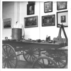 the 1973 exhibition- old bier & wheelwright tools | (VH Archive)