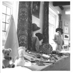 1973 craftwork exhibition in Village Hall | (VH Archive)