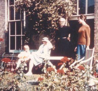 de Candole family at vicarage July 1964 | (Deacon)