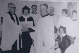 Rev de Candole leaving party | (Deacon)