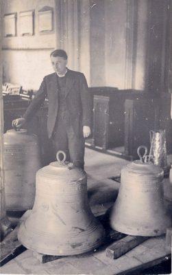 Rev Ward & the new bells 1937 | N Jones)
