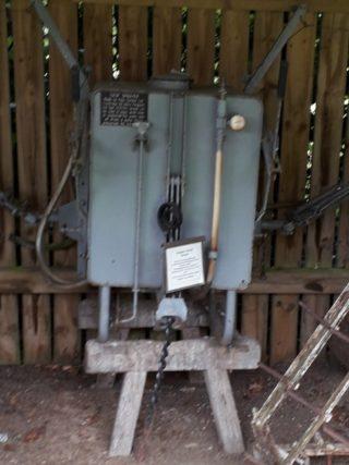 Pest control crop sprayer found in Yorkshire rural museum | (Roadley)