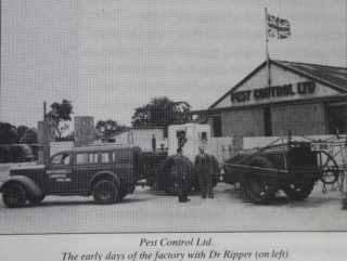 Dr Ripper at Pest Control Hauxton | (Bk: Hauxton in Times Past)