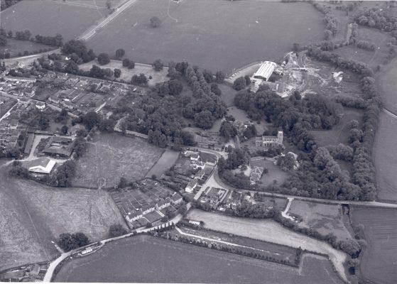 Church Lane area, early 1970s | (Barrington Archive)