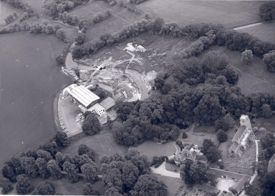 Church, Manor & Mill, early 1970s (3)   (Barrington Archive)