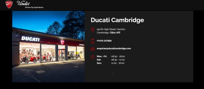 Ducati Cambridge