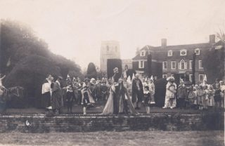 Early pageant at Harston Manor around 1920 | (Deacon)