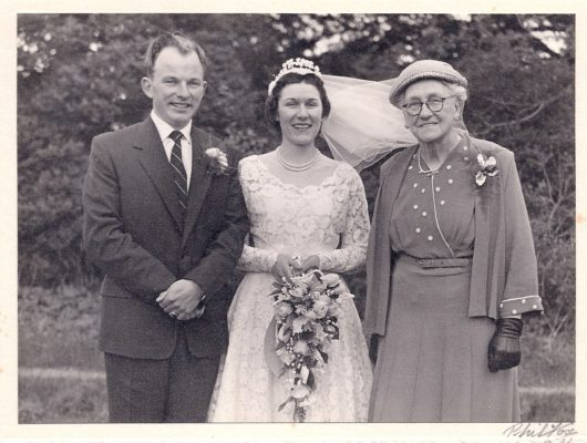 1957 wedding of Audrey Wilson to Trevor Knight