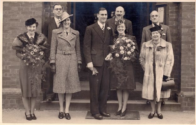 Wedding of Arthur Wilson