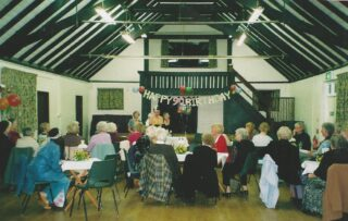 WI 90th birthday night on 3 Mar 2010 - fun & games in Village Hall | (WI photo collection)