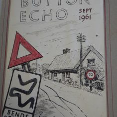 Sketch of the two original cottages in Sep 1961; now Hope Cottage   (Sellen)