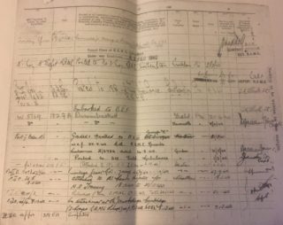 Harold Evans additional WW2 Service Record | (Tom Evans)