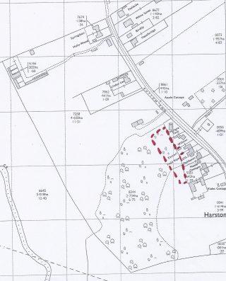 Kenterl, Hays-Northrop land 1971 OS map