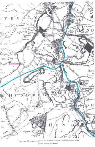 Proposed Bishop's Stortford to Cambridge Canal