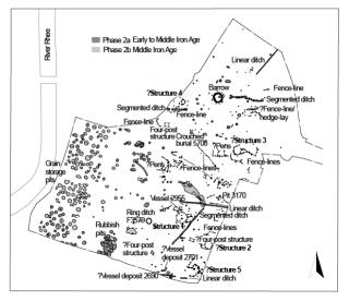 MZZ0ZA.01 Iron Age site by the Rhee (O'Brien) | (O'Brien)