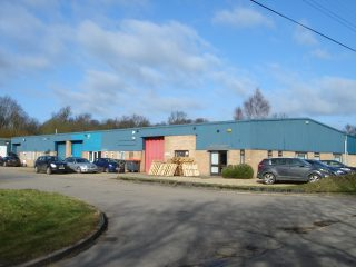 Industrial Units north side Button End 2015 | (Griffin)