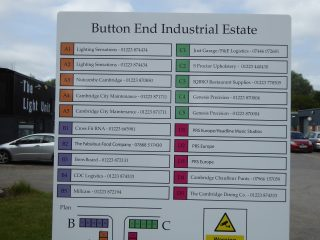 Businesses in Button End Industrial Estate July 2019 | (Roadley)