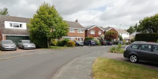 Driveways full of cars as people stay at home | (H Roadley)