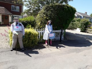 Figures supporting NHS created by Marriotts in Station Rd May 2020 | (Roadley)